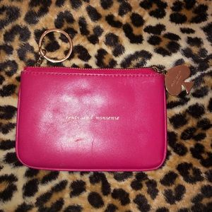 KATE SPADE CENTS AND NONSENSE COIN PURSE CHANGE